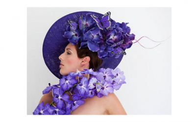 One of Philip Treacy's Orchard hats