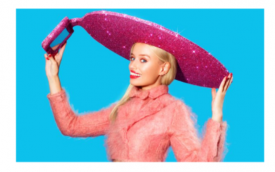 With wearable technology everywhere in 2014, Christian Cowan-Sanluis teamed up with Acer at London Fashion Week to make and show off a selfie hat! Although it's more for showing off then practicality, the hat has been worn by Lady GaGa!