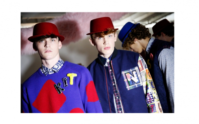 Hats at London Collections Men AW15