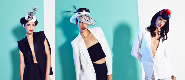 Lisa Tan Millinery SS15 Collection