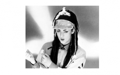 Boy George Millinery Moment