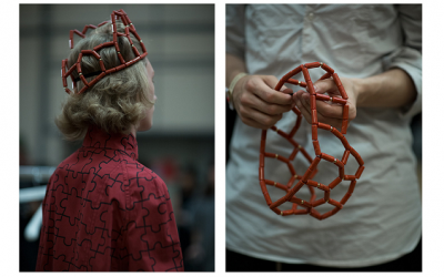 J.W.Anderson's menswear show is, alongside Craig Green, one of the biggest draws of the LCM schedule - some of his looks for SS17 included a menswear crown. It added another layer of art to the collection but we're not sure about the practicalities of this..