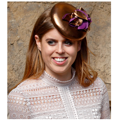 Princess Beatrice in Justine Bradley-Hill